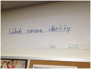 Labels Remove Identity