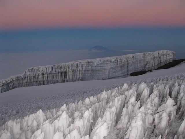 kili glaciers