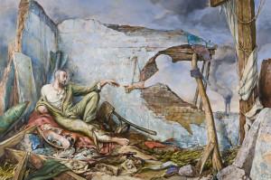 Creation of War, by Samuel Bak