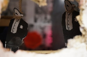 figure 10, detail of students' final diorama exploring empathy and Holocaust denial