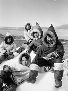 Inuit children