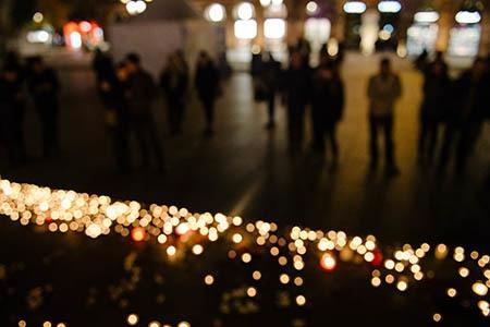 Street vigil